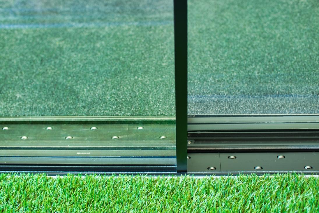 Glasmuster und Panorama Fenster Systeme